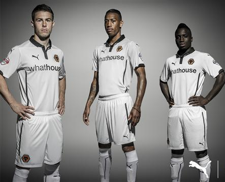 New Wolverhampton Wanderers Away Shirt 2014 2015