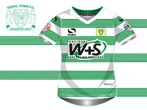 New Yeovil Town Home Kit 2014 15