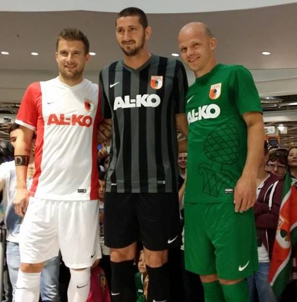 Nike FC Augsburg Trikot 2014 15