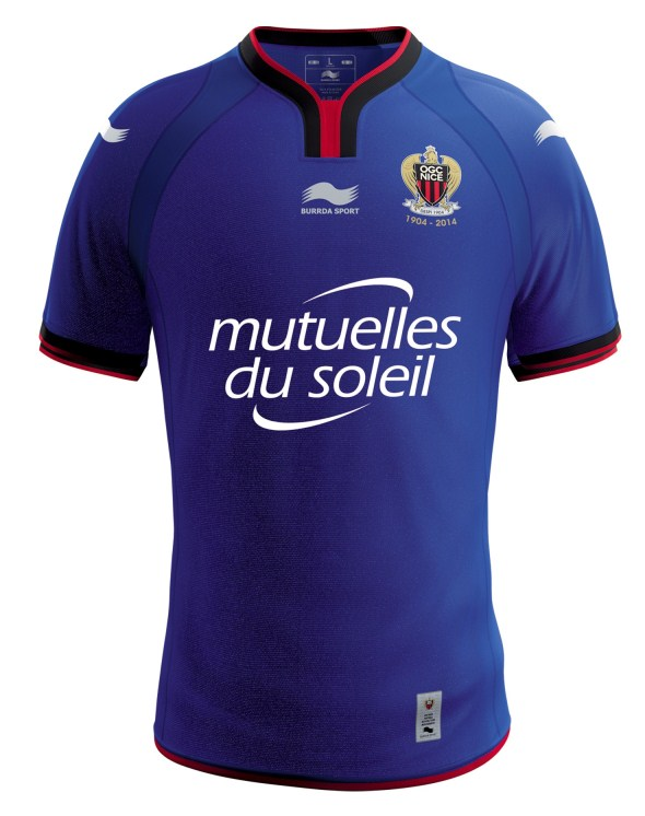 OGC Nice Football Shirt 2014 15