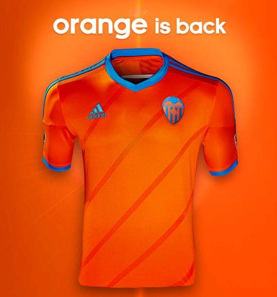 New Valencia Away Kit 2014 15- Adidas Orange Valencia Jersey 2014 ... e3d9e646b