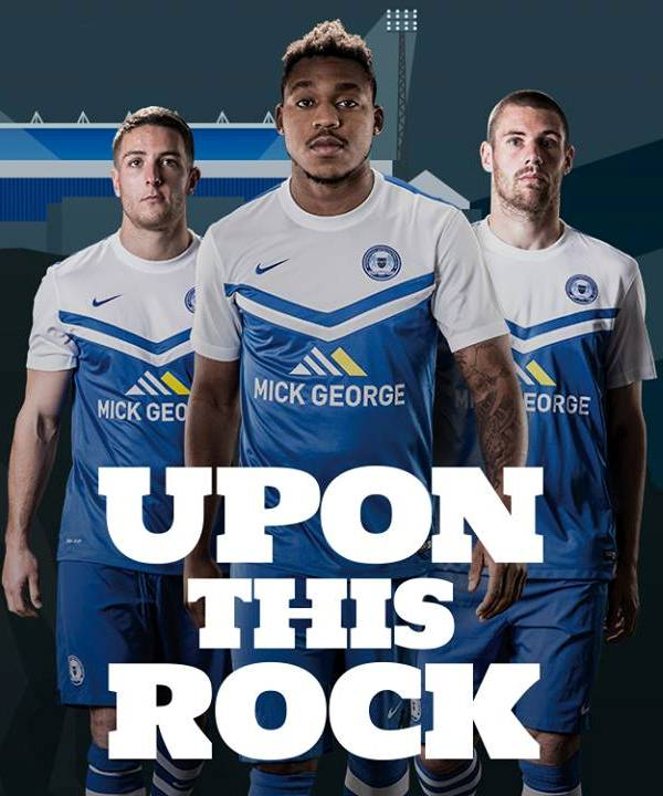 PUFC Home Kit Uponthisrock
