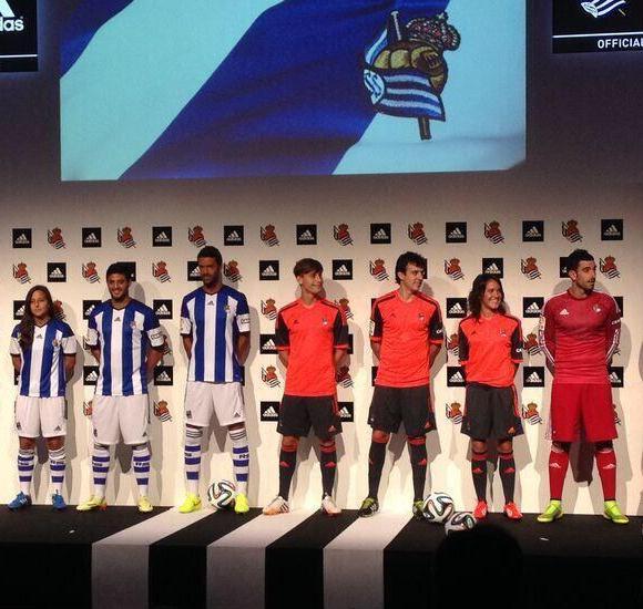 Real Sociedad Jersey 2014 2015