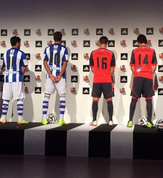 Real Sociedad Shirt Back