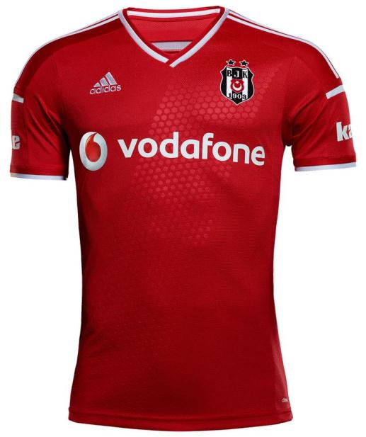 fca771826 New Besiktas Kit 14-15 Adidas BJK Jerseys 2014 2015 Vodafone Home ...
