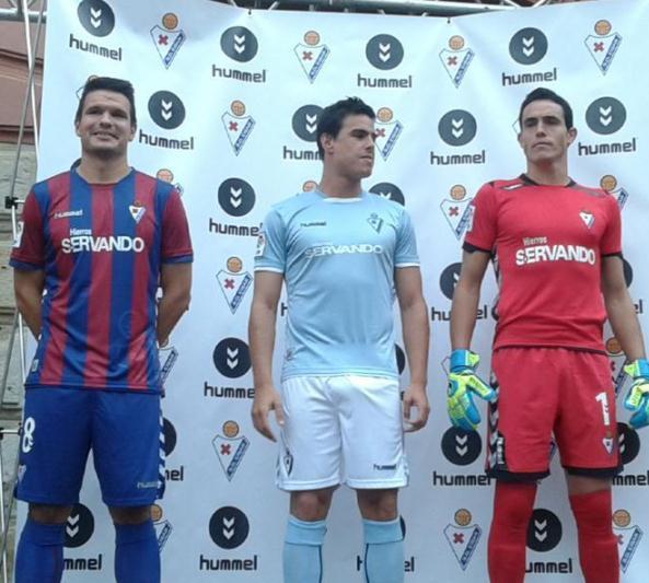 SD Eibar Soccer Jersey 2014 2015