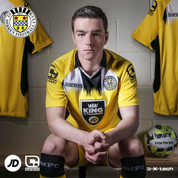 St.Mirren Away Kit 2014 15