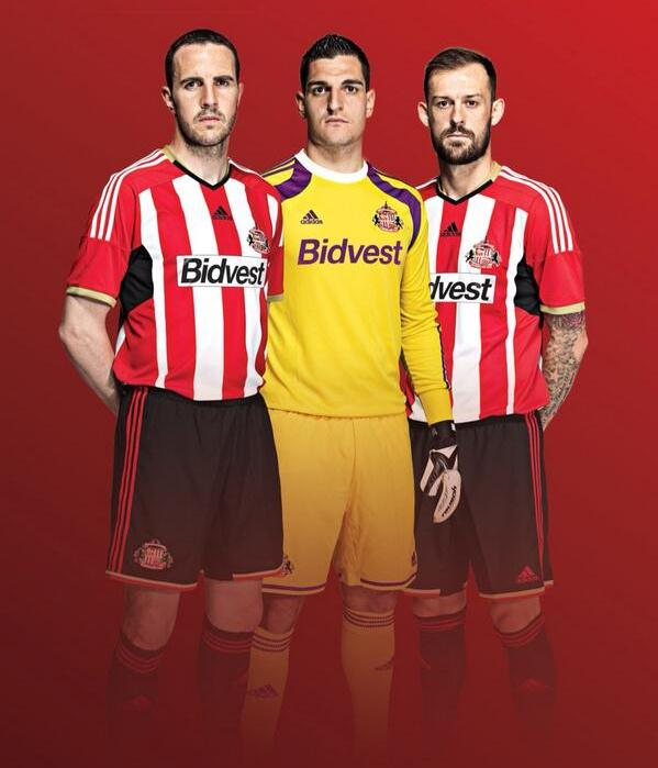 Sunderland Home Top 2014 15