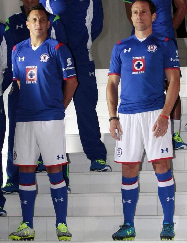 c3966660 New Cruz Azul Jerseys 2014/2015- Under Armour Cruz Azul Kits 2014-15 ...