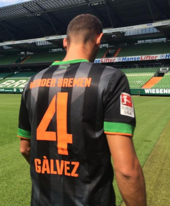 Werder Bremen Away Shirt Back