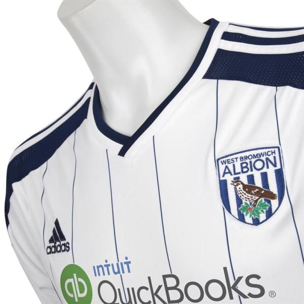 West Brom Pinstripe Shirt 2014 2015