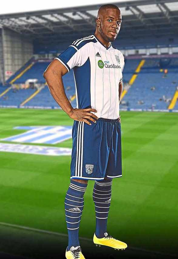 West Bromwich Albion Home Kit 2014 15