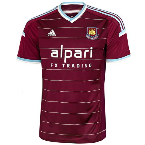 West Ham Home Shirt 2014 15