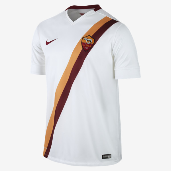 White Roma Away Shirt