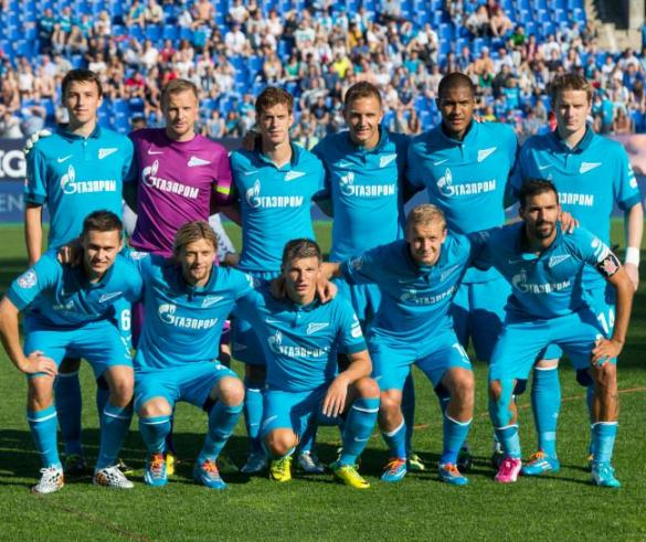 Zenit Home Kit 2014 2015