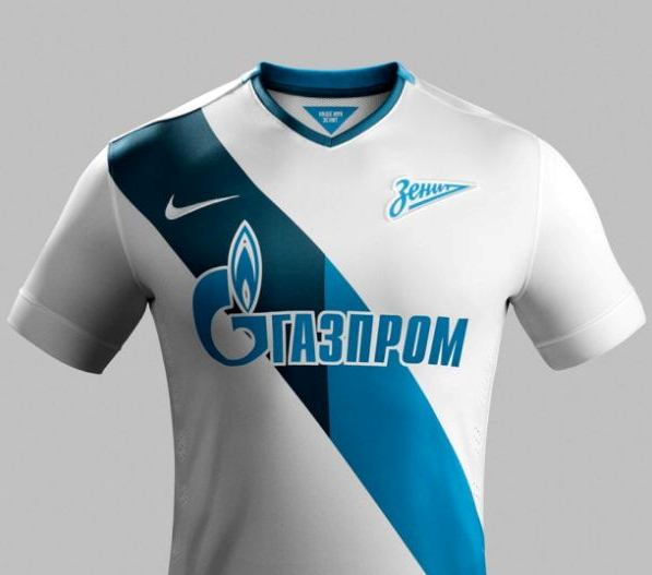Zenit Saint Petersburg Away Kit 14 15