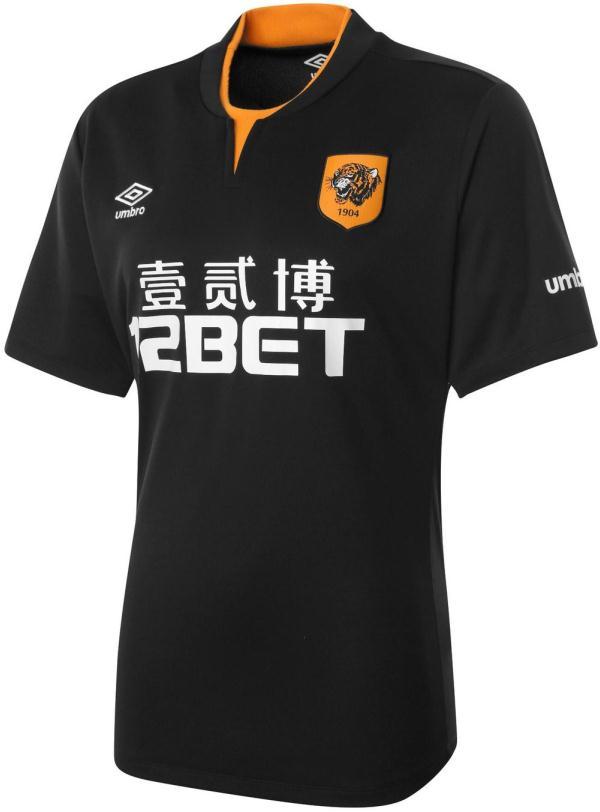 Black Hull City Away Shirt 2014 2015