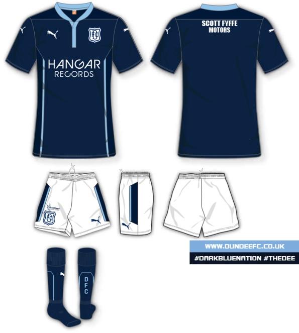 Dundee FC Hangar Records Sponsorship