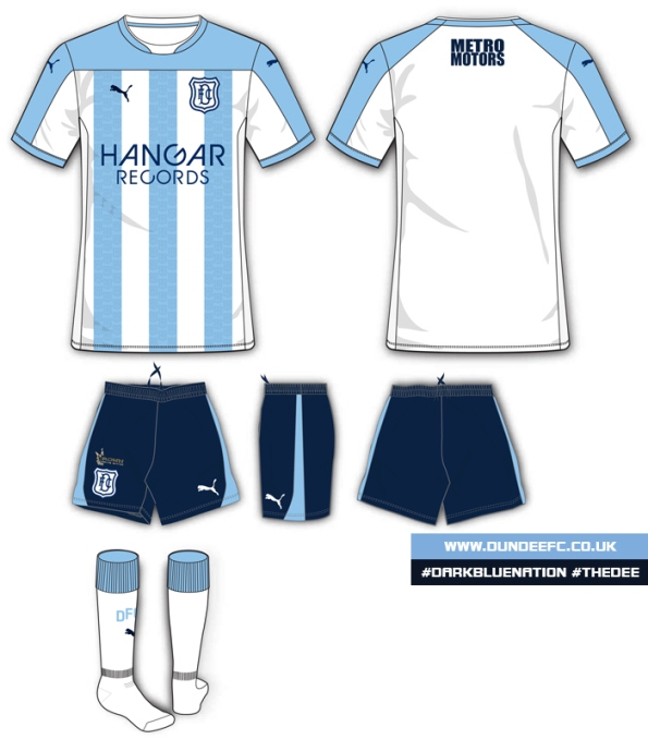 Dundee FC Strip 2014 15
