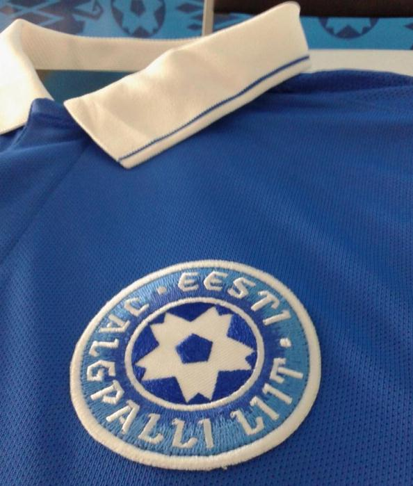 Estonia Football Strip 2014 15