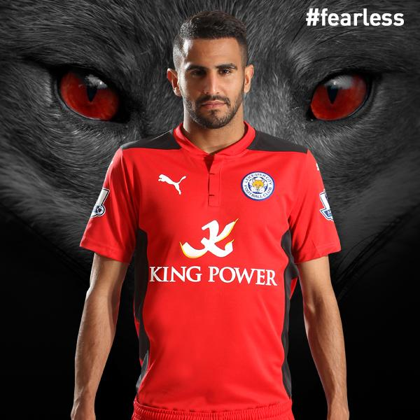 Leicester City Away Kit 14 15