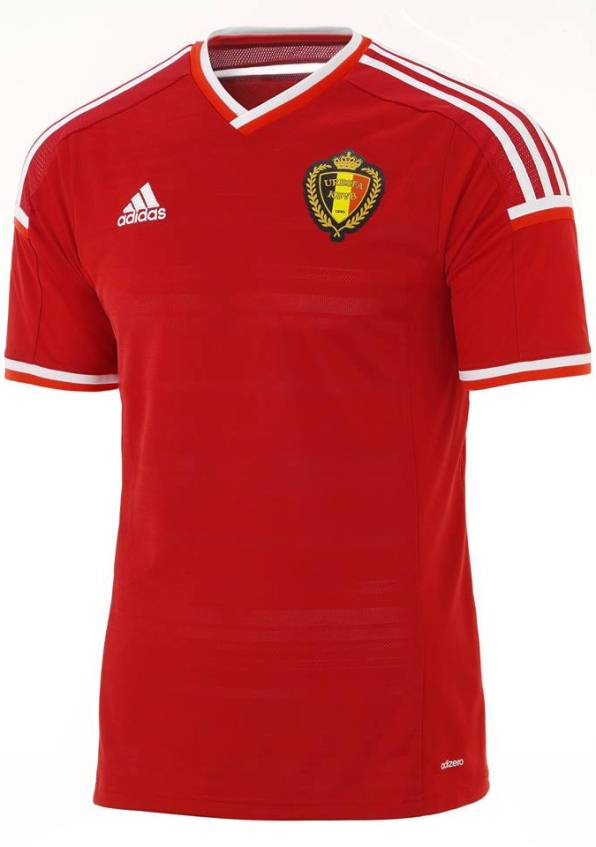 New Belgium Adidas Home Kit 14 15