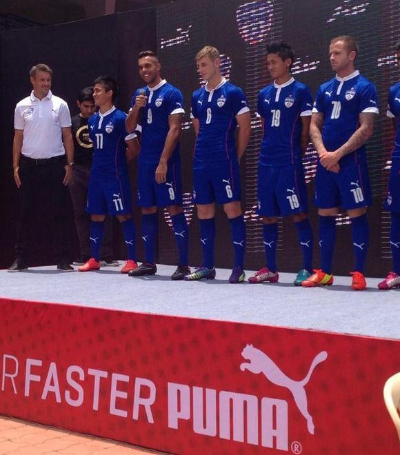 New Bengaluru FC Jersey 2014