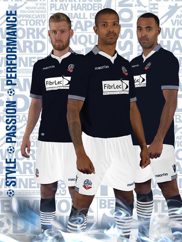 New Bolton Away Kit 14 15