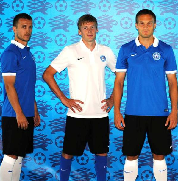 New Estonia Soccer Jersey 2014 2015