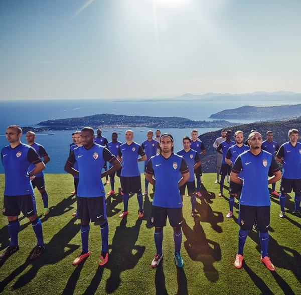 New Monaco Away Kit 14 15
