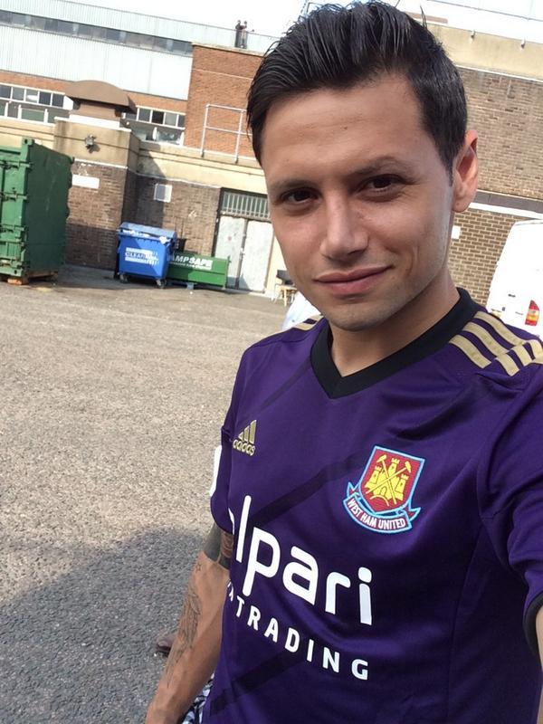 New West Ham Third Kit 14 15