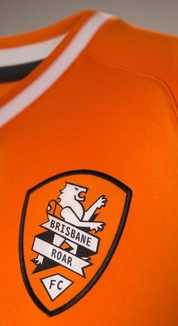 Orange Brisbane Roar Jersey 2014 15
