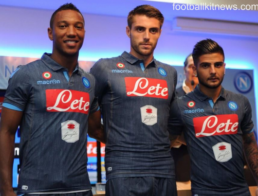 New Napoli Denim Shirt 2014 15