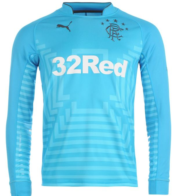 Rangers Goalkeeper Away Shirt 2014 2015