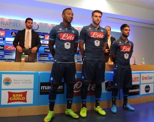 SSC Napoli Denim Maglia 2014