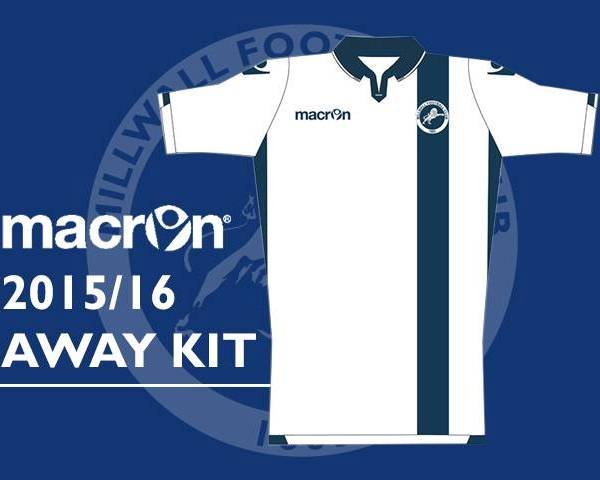 New Millwall Away Kit 2015 16