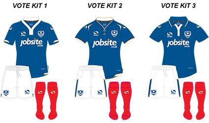 Pompey 2015 16 Kit Fan Vote