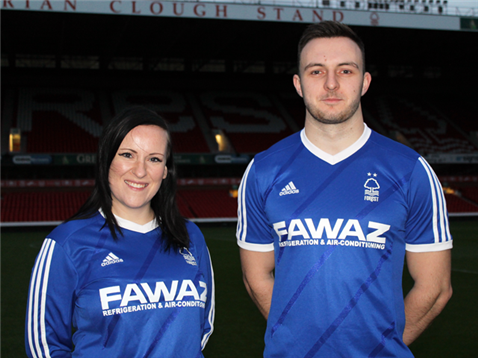Blue Nottingham Forest Shirt 2014 2015