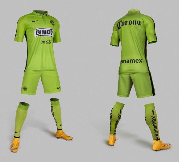 Club America Green Jersey 2015