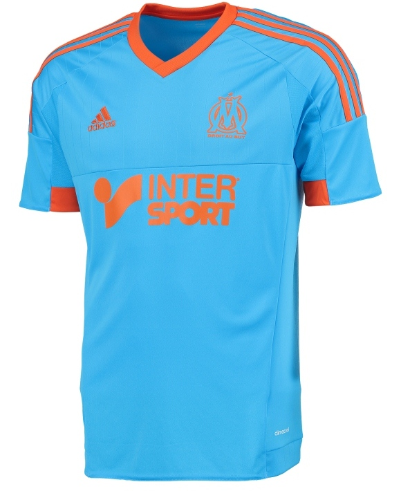 Marseille Fourth Kit 2014 2015