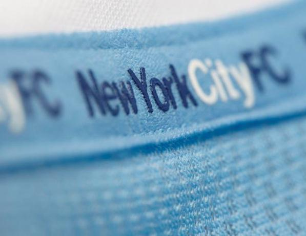 NYCFC Jersey Closeup