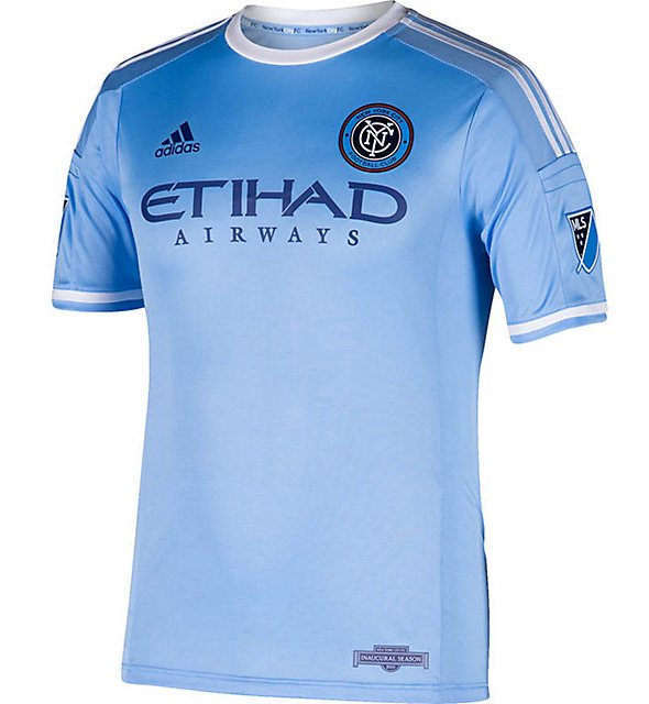 NYCFC Soccer Jersey 20154