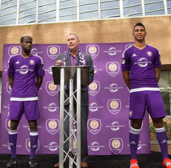 New Orlando City Football Shirt 2015