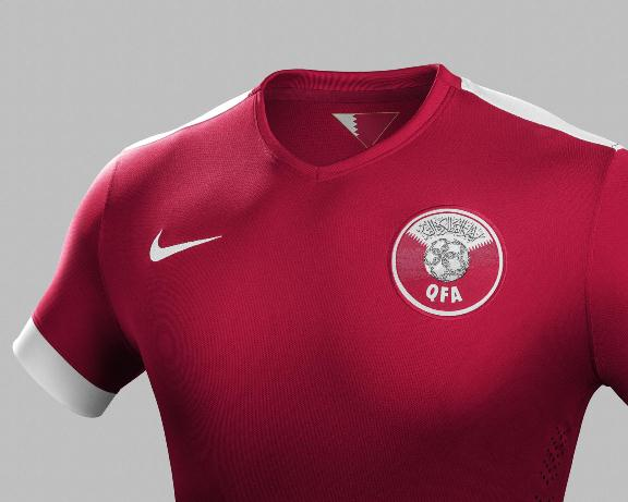 New Qatar Football Shirt 2015