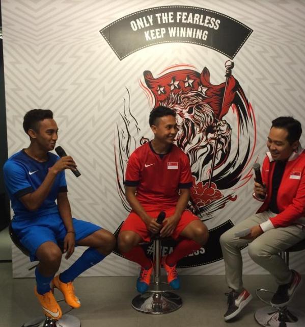 New Singapore Football Jersey 2014 15