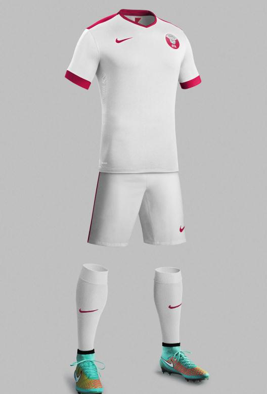 Qatar Away Kit Nike