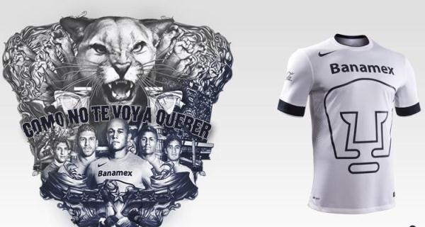 UNAM White Jersey 2015