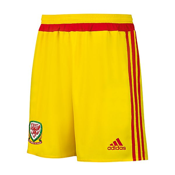 Wales Away Football Shorts 2015