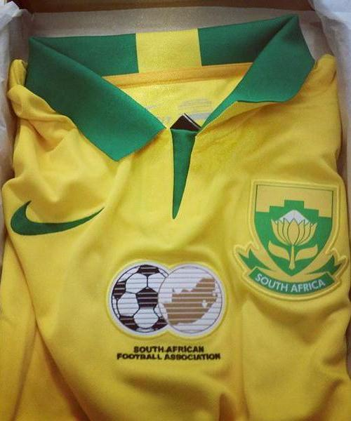 23c8cad4bfac New Bafana AFCON Jersey 2015- Nike South Africa Kits 2015 Home Away ...