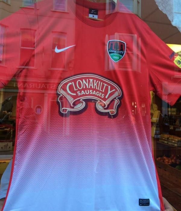 Cork City Away Kit 2015
